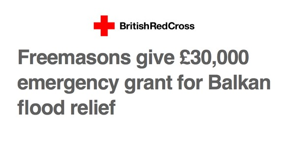 british red cross freemasons
